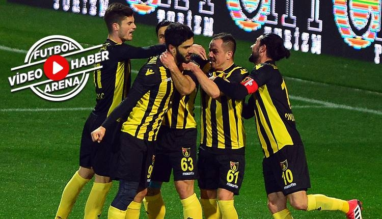 İstanbulspor 1-0 Manisaspor maçı özeti ve golü (İZLE)