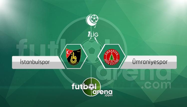 İstanbulspor - Ümraniyespor maçı saat kaçta, hangi kanalda? (İddaa Canlı Skor)
