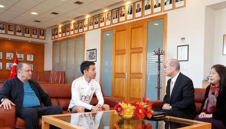 Japonya İstanbul Başkonsolosu'ndan Galatasaray'a ziyaret