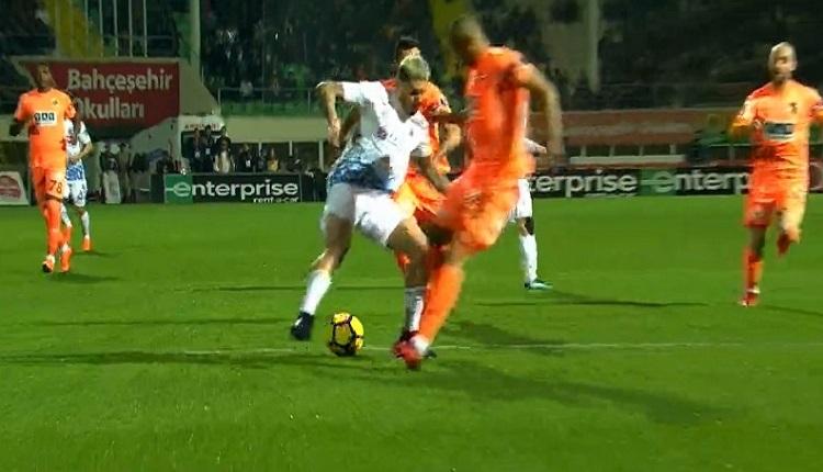 Jose Sosa ve Trabzonspor'un Alanya'da penaltı isyanı