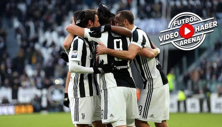 Juventus 7-0 Sassuolo maçı özeti ve golleri (İZLE)
