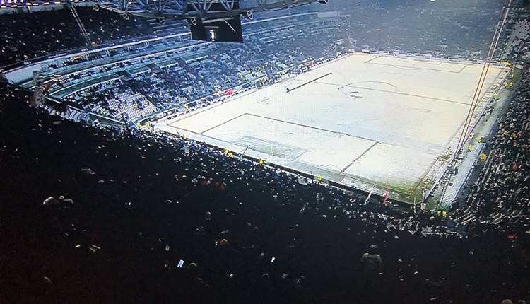 Juventus - Atalanta maçı kara takıldı!