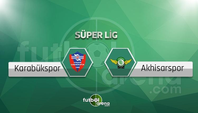 Karabükspor - Akhisarspor maçı sakat, cezalı oyuncular