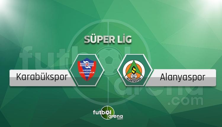 Karabükspor - Alanyaspor maçı saat kaçta, hangi kanalda? (İddaa canlı skor)
