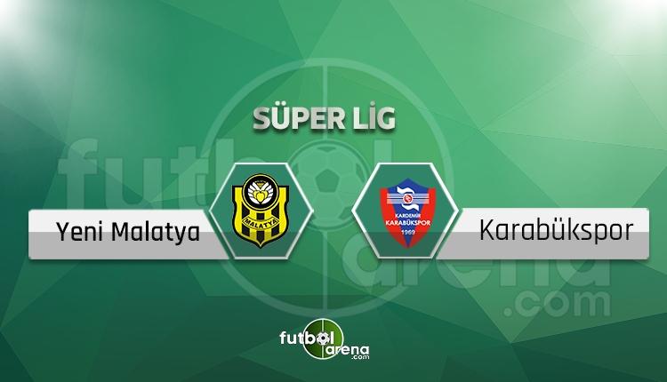 Karabükspor - Yeni Malatyaspor sakat, cezalı oyuncular