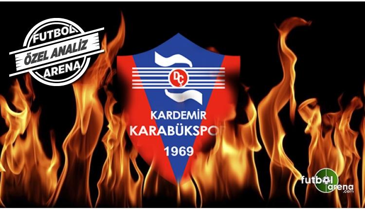 Karabükspor'un büyük şanssızlığı, hem atamıyor hem tutamıyor!