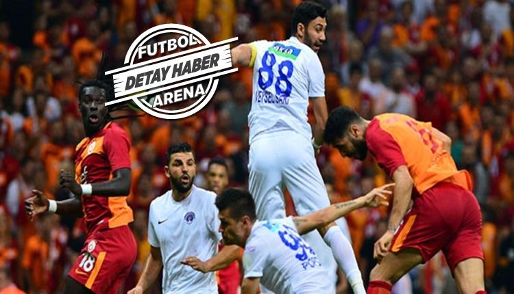 Kasımpaşa ve Galatasaray ceza sahası dışından avlıyor