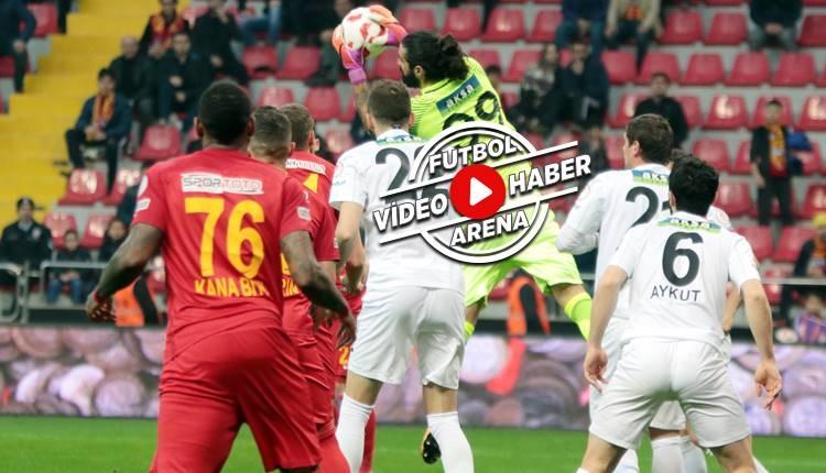 Kayserispor 2-2 Akhisarspor maçı özeti ve golleri (İZLE)