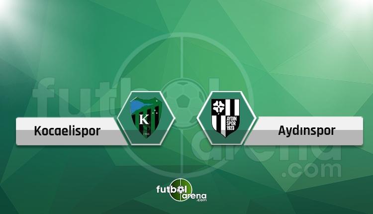 Kocaelispor - Aydınspor 1923 maçı canlı ve şifresiz İZLE