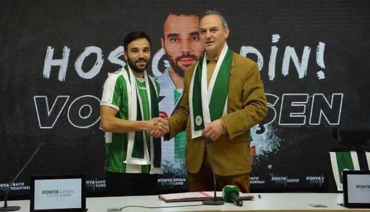 Konyaspor, Volkan Şen ile imzaladı