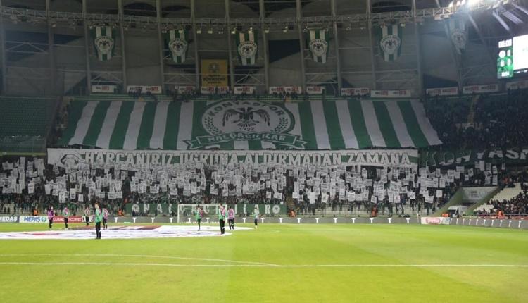 Konyaspor'da bilet gelirleri Mehmetçik Vakfı'na gidecek