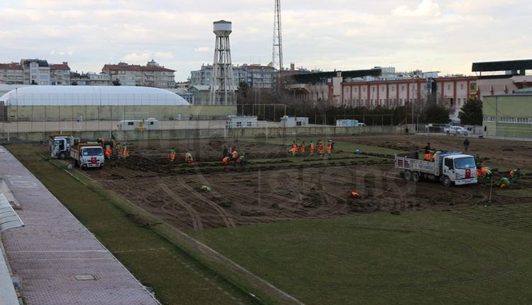 Konyaspor'un eski stadyumu yıkılıyor