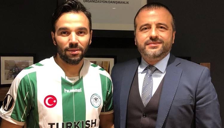 Konyaspor'un yeni transferi Volkan Şen Galatasaray maçına yetişemedi