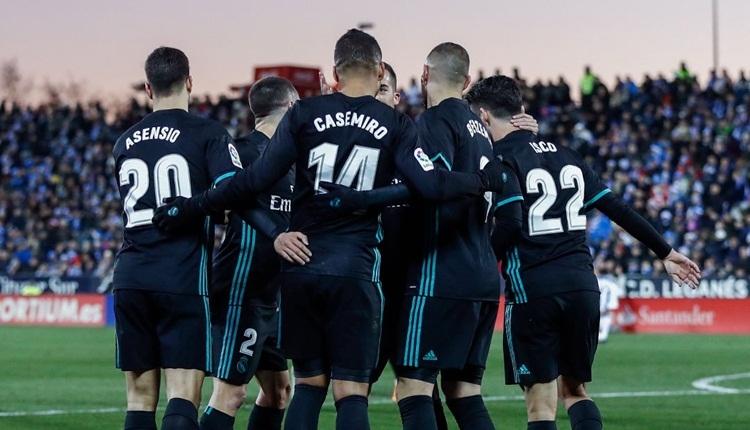 Leganes 1-3 Real Madrid maç özeti ve golleri (İZLE)