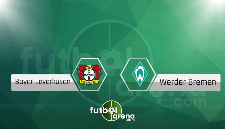 Leverkusen - Werder Bremen maçı saat kaçta, hangi kanalda? (İddaa canlı skor)
