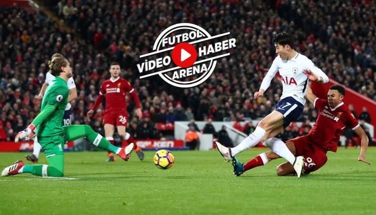 Liverpool 2-2 Tottenham maçı özeti ve golleri (İZLE)