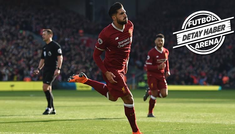 Liverpool'un yıldızı Emre Can'dan 100. gol