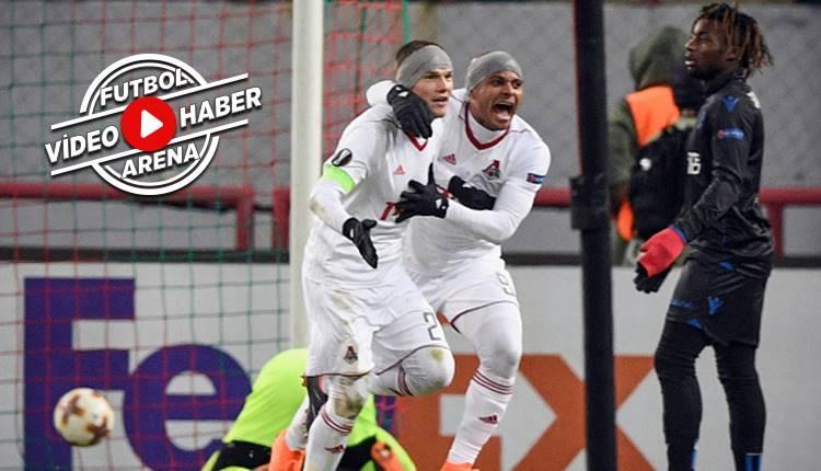 Lokomotiv Moskova 1-0 Nice maçı özeti ve golü (İZLE)