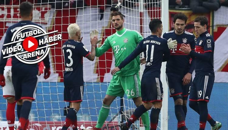 Mainz 0-2 Bayern Münih maçı özeti ve golleri (İZLE)