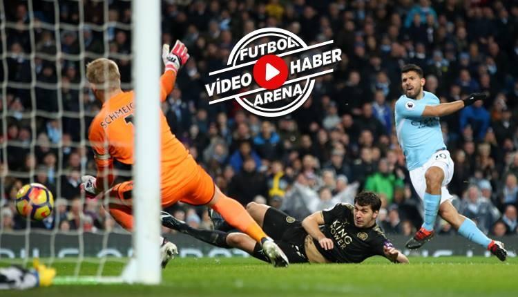 Manchester City 5-1 Leicester City maçı özeti ve golleri (İZLE)
