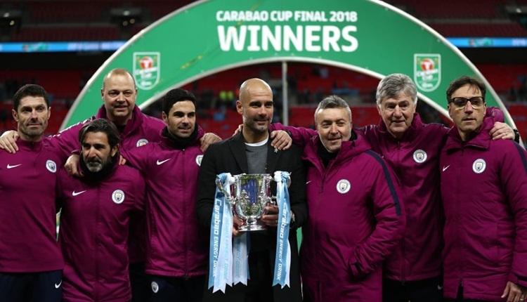 Manchester City, İngiltere Lig Kupası'nda zafere ulaştı