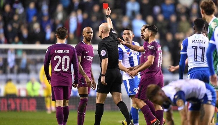 Manchester City, Wigan'a elendi! FA Cup'ta şok skor (İZLE)