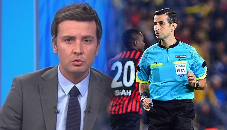 Mete Kalkavan'dan Fenerbahçe maçında yanlış oyuncuya kart! Ersin Düzen eleştirdi