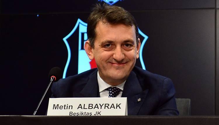 Metin Albayrak açıkladı: 'Beşiktaş'ın maçları ertelenecek mi?'