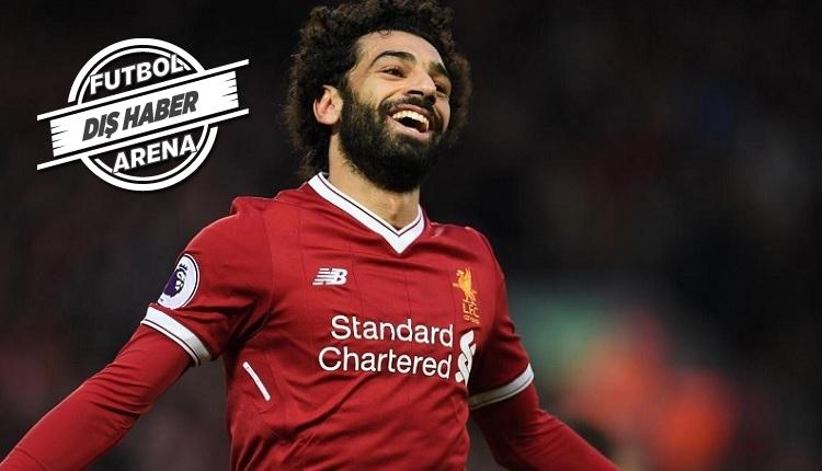 Mohamed Salah Liverpool'da tarihe geçti! Luis Suarez'den sonra...