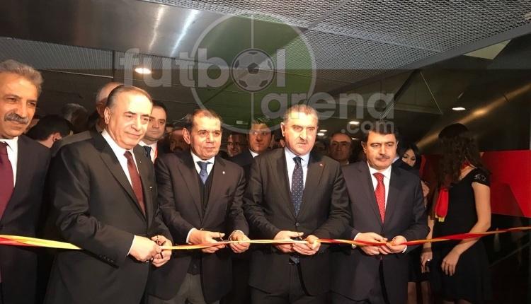 Galatasaray Stadı Müzesi'nin açılışı yapıldı