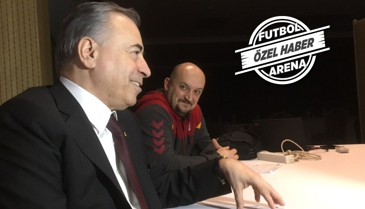 Galatasaray'da Mustafa Cengiz, voleybol takımını pas geçmedi
