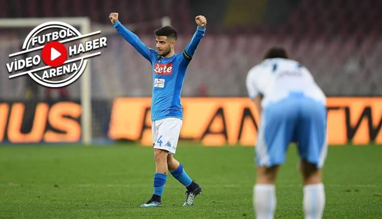 Napoli 4-1 Lazio maçı özeti ve golleri (İZLE)