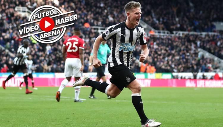 Newcastle United 1-0 Manchester United maçı özeti ve golleri (İZLE)