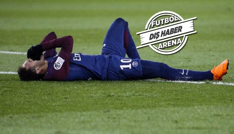 Neymar'ın ayağı döndü, gözyaşlarıyla sahayı terk etti