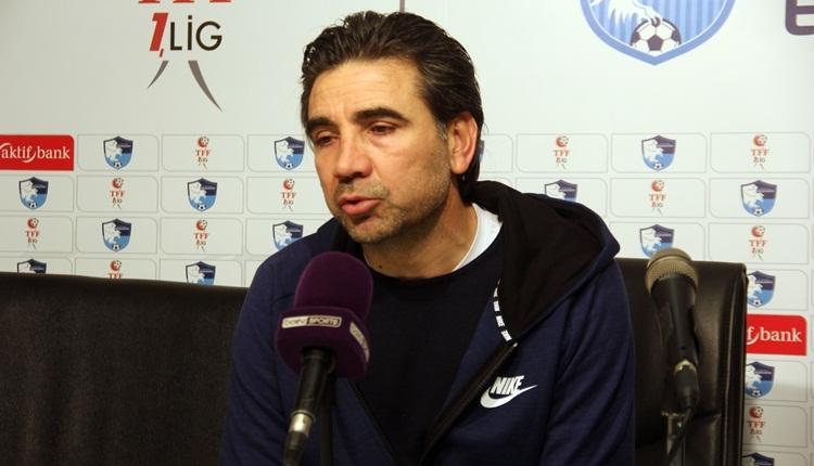 Osman Özköylü, Adanaspor'un mağlubiyetini savundu: 'Büyük hata yaptık'