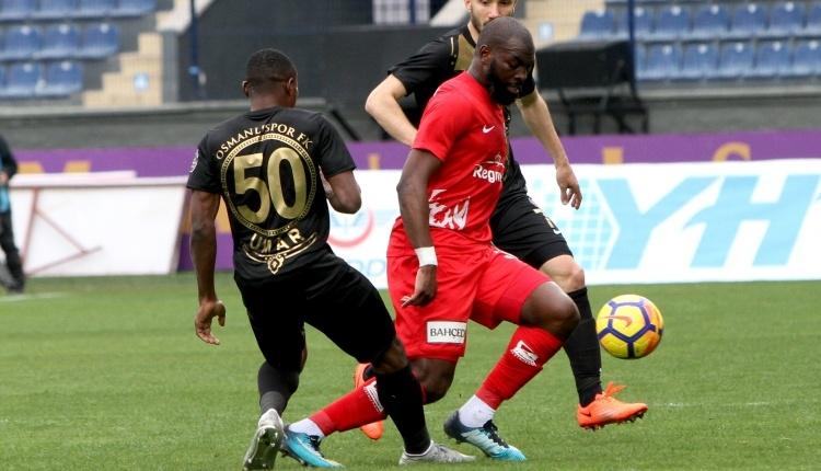 Osmanlıspor 0 - 0 Antalyaspor maç özeti ve posizyonları (İZLE)