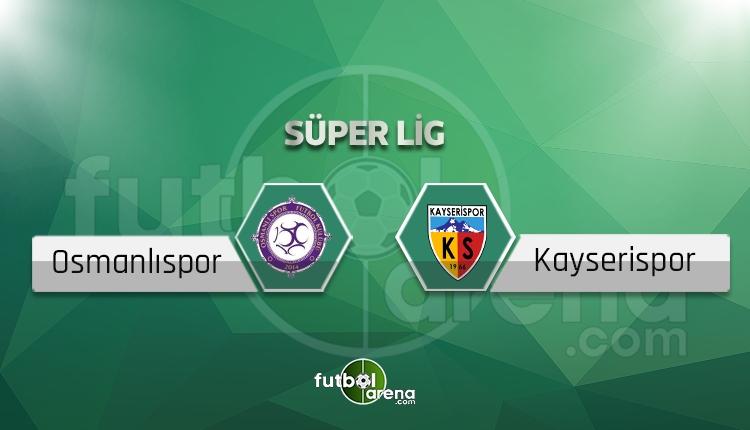 Osmanlıspor - Kayserispor maçı saat kaçta, hangi kanalda? (İddaa canlı skor)