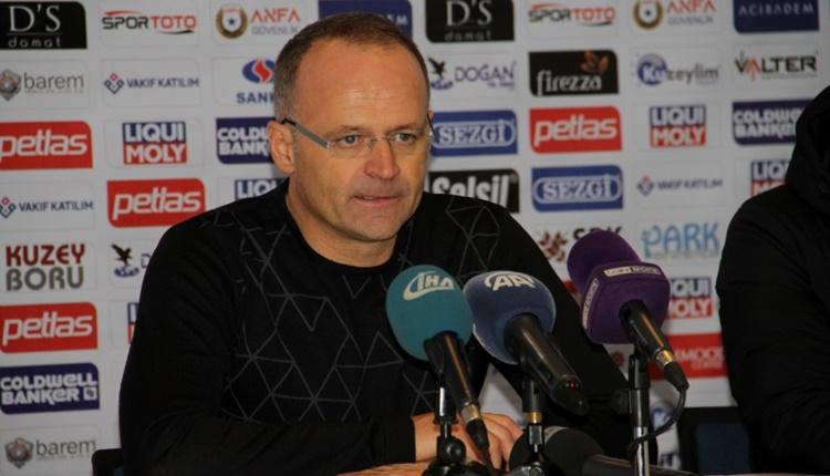 Osmanlıspor'da İrfan Buz: 'Oyunumuzun gelişmesi devam ediyor'