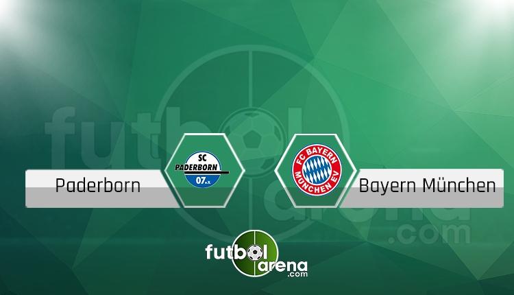 Paderborn Bayern Münih maçı saat kaçta, hangi kanalda? (İddaa canlı skor)