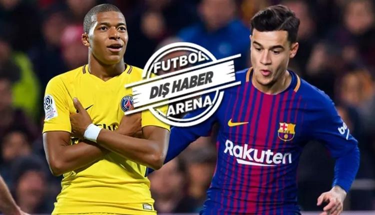 PSG, Coutinho için Mbappe'yi önerecek