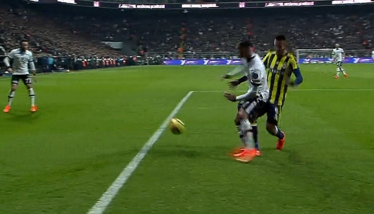 Quaresma'nın Fenerbahçe derbisinde penaltı isyanı
