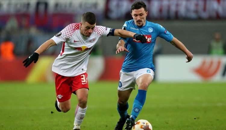 RB Leipzig 0-2 Napoli maçı özeti ve golleri (İZLE)