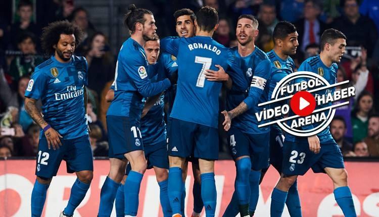 Real Betis 3-5 Real Madrid maçı özeti ve golleri (İZLE)