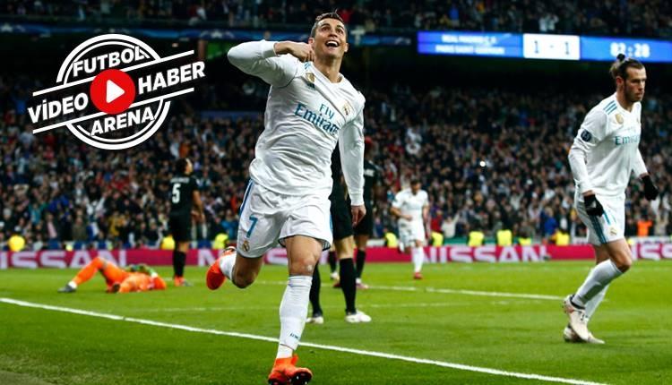 Real Madrid 3-1 PSG maçı özeti ve golleri (İZLE)