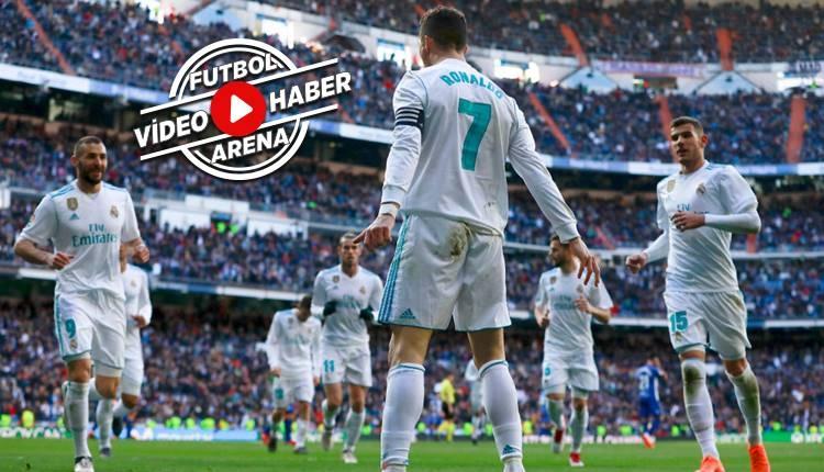 Real Madrid 4-0 Deportivo Alaves maçı özeti ve golleri (İZLE)