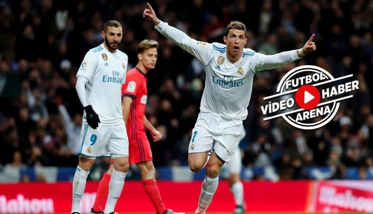 Real Madrid 5-2 Real Sociedad maçı özeti ve golleri (İZLE)