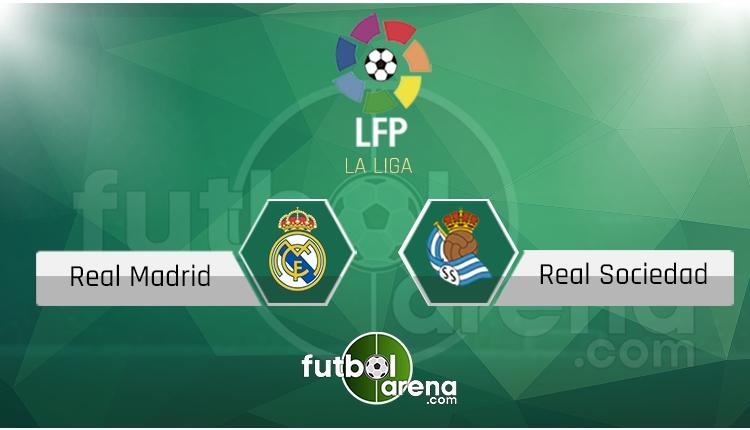 Real Madrid - Real Sociedad maçı saat kaçta, hangi kanalda? (İddaa Canlı Skor)