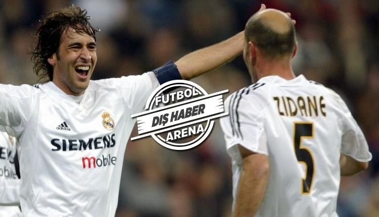 Real Madrid'in efsanesi Raul'dan Zidane'a destek