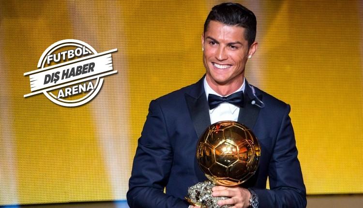 Real Madrid'in yıldızı Cristiano Ronaldo'nun Ballon d'Or hedefi