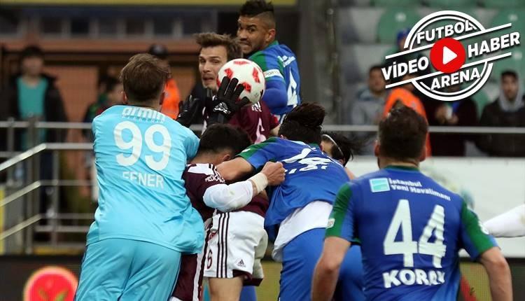 Rizespor 1-1 Elazığspor maçı özeti ve golleri (İZLE)